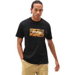 textil Herr T-shirts Dickies DK0A4X9JBLK1 Svart