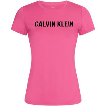 textil Dam T-shirts Calvin Klein Jeans 00GWF0K168 Rosa