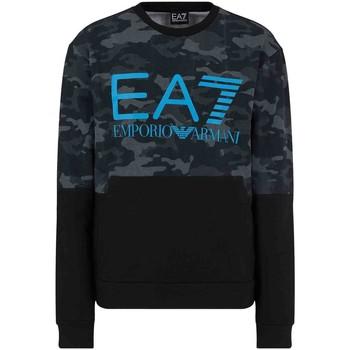 textil Herr Sweatshirts Ea7 Emporio Armani 3KPM43 PJ5BZ Svart