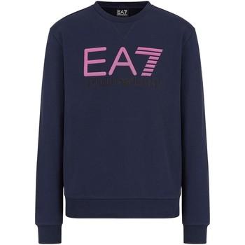 textil Herr Sweatshirts Ea7 Emporio Armani 3KPME9 PJASZ Blå