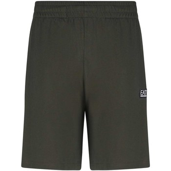 textil Herr Shorts / Bermudas Ea7 Emporio Armani 3KPS53 PJ7BZ Grön