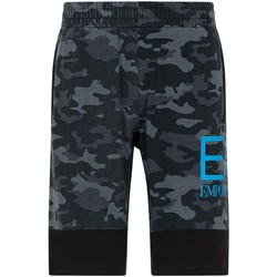 textil Herr Shorts / Bermudas Ea7 Emporio Armani 3KPS60 PJ5BZ Svart