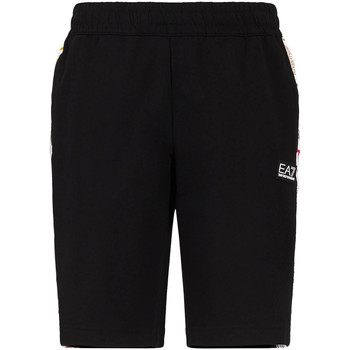 textil Herr Shorts / Bermudas Ea7 Emporio Armani 3KPS81 PJ05Z Svart