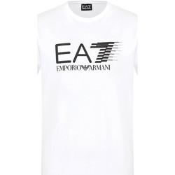 textil Herr T-shirts Ea7 Emporio Armani 3KPT39 PJ02Z Vit