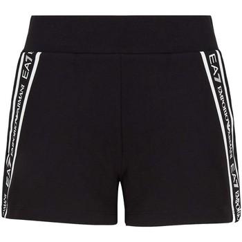 textil Dam Shorts / Bermudas Ea7 Emporio Armani 3KTS59 TJ5FZ Svart