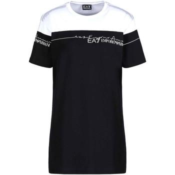 textil Dam T-shirts Ea7 Emporio Armani 3KTT59 TJBEZ Svart
