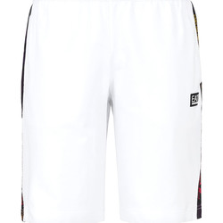 textil Herr Badbyxor och badkläder Ea7 Emporio Armani 3KPS81 PJ05Z Vit