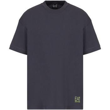 textil Herr T-shirts Ea7 Emporio Armani 3KPT58 PJ02Z Grå