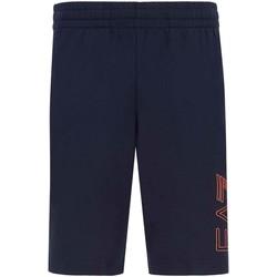 textil Herr Shorts / Bermudas Ea7 Emporio Armani 3KPS57 PJ05Z Blå