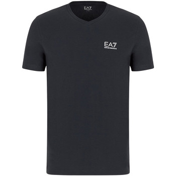 textil Herr T-shirts Ea7 Emporio Armani 8NPT53 PJM5Z Grå