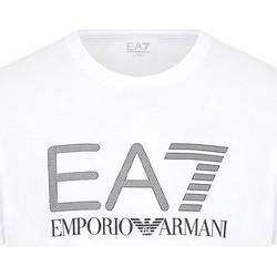 textil Herr T-shirts Ea7 Emporio Armani 3KPT81 PJM9Z Vit