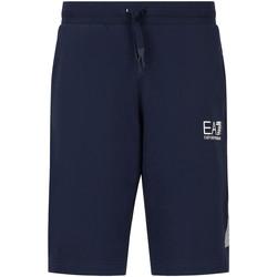 textil Herr Shorts / Bermudas Ea7 Emporio Armani 3KPS67 PJ05Z Blå