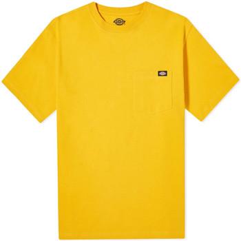 textil Herr T-shirts Dickies DK0A4TMOB591 Gul