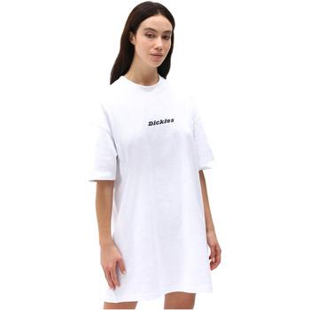 textil Dam Korta klänningar Dickies DK0A4XB8WHX1 Vit