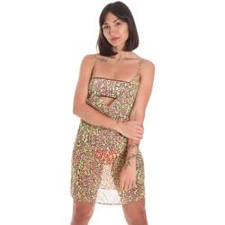 textil Dam Korta klänningar Me Fui M20-0456X2 Gul