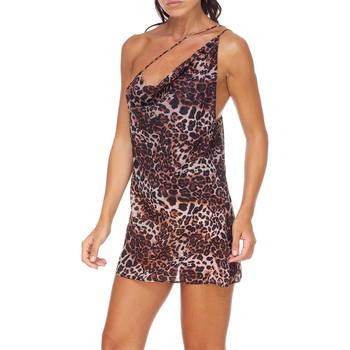 textil Dam Korta klänningar Me Fui M20-0456X1 Brun