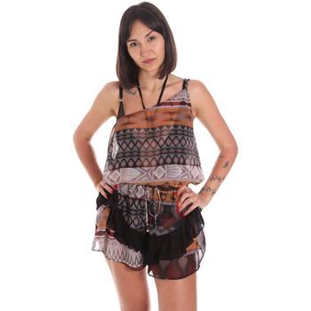 textil Dam Uniform Me Fui M20-0060X1 Brun