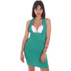textil Dam Korta klänningar Me Fui M20-0354VE Grön