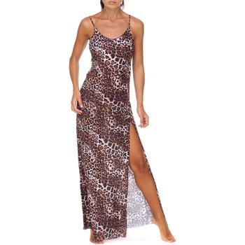 textil Dam Långklänningar Me Fui M20-0462X1 Brun