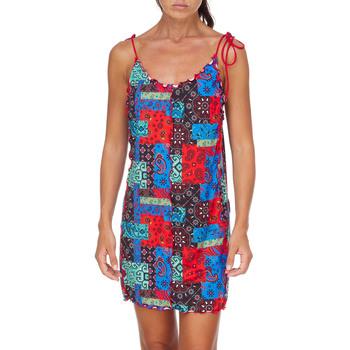 textil Dam Korta klänningar Me Fui M20-0361X1 Röd