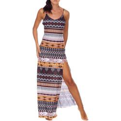 textil Dam Långklänningar Me Fui M20-0080X1 Brun