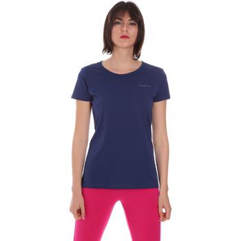 textil Dam T-shirts Diadora 102175886 Blå