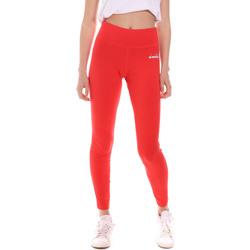 textil Dam Leggings Diadora 102175702 Röd