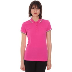 textil Dam Kortärmade pikétröjor Diadora 102161015 Rosa