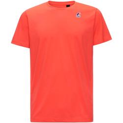textil Herr T-shirts K-Way K007JE0 Röd