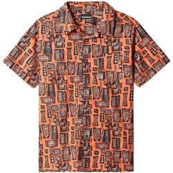 textil Kortärmade skjortor Napapijri NP0A4F4S Orange