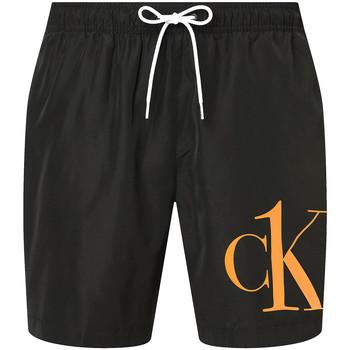 textil Herr Shorts / Bermudas Calvin Klein Jeans KM0KM00590 Svart