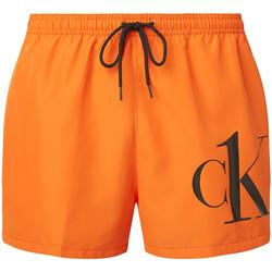 textil Herr Shorts / Bermudas Calvin Klein Jeans KM0KM00591 Orange