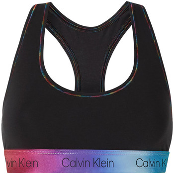 textil Dam Sport-BH Calvin Klein Jeans 000QF6538E Svart
