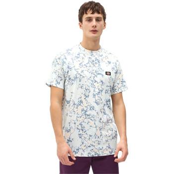 textil Herr T-shirts Dickies DK0A4X9PB551 Blå