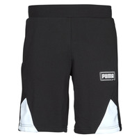 textil Herr Shorts / Bermudas Puma RBL SHORTS Svart / Vit