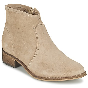 Skor Dam Boots Betty London NIDIA Beige