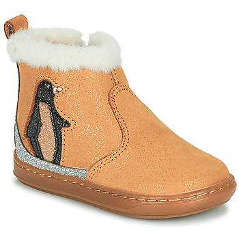 Skor Flickor Boots Shoo Pom BOUBA ICE Brun