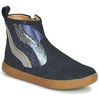 Skor Flickor Boots Shoo Pom PLAY WAVES Blå