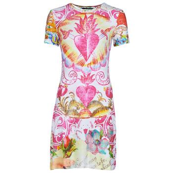 textil Dam Korta klänningar Desigual TATTO Flerfärgad