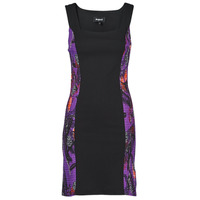 textil Dam Korta klänningar Desigual BATON ROUGE Flerfärgad