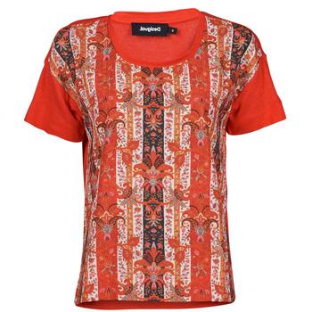 textil Dam T-shirts Desigual LOMBOK Flerfärgad