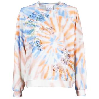 textil Dam Sweatshirts Desigual CRUDO Flerfärgad