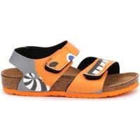 Skor Barn Sandaler Birkenstock Palu Kids BS Orange