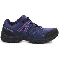 Skor Dam Sneakers Salomon Deepstone W Lila