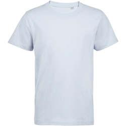 textil Barn T-shirts Sols Camiseta de niño con cuello redondo Azul