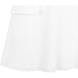 textil Dam Kjolar Pinko  Vit