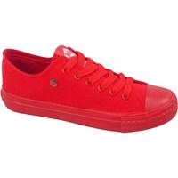 Skor Dam Sneakers Lee Cooper LCWL2031046 Röda