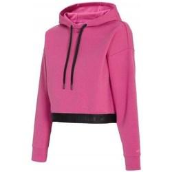textil Dam Sweatshirts 4F BLD011 Rosa