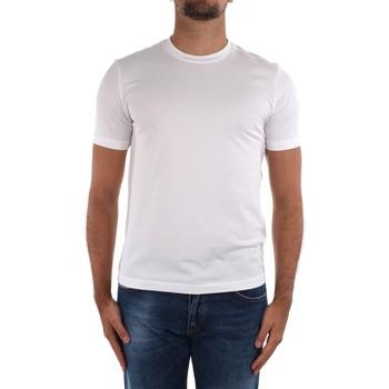 textil Herr T-shirts Cruciani CUJOSB G30 White