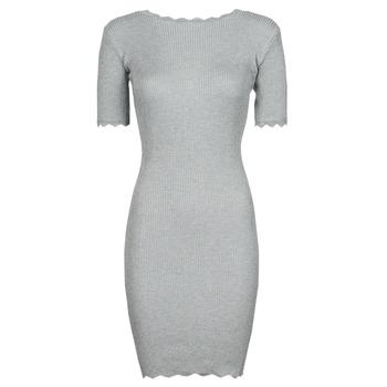 textil Dam Korta klänningar Yurban PAULINO Grå